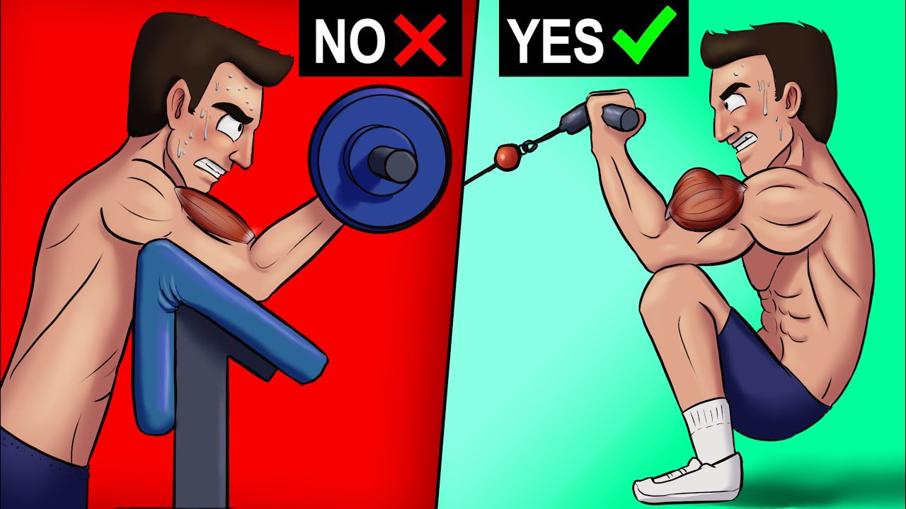 8 NEW Bicep Exercises (You've Never Done!)