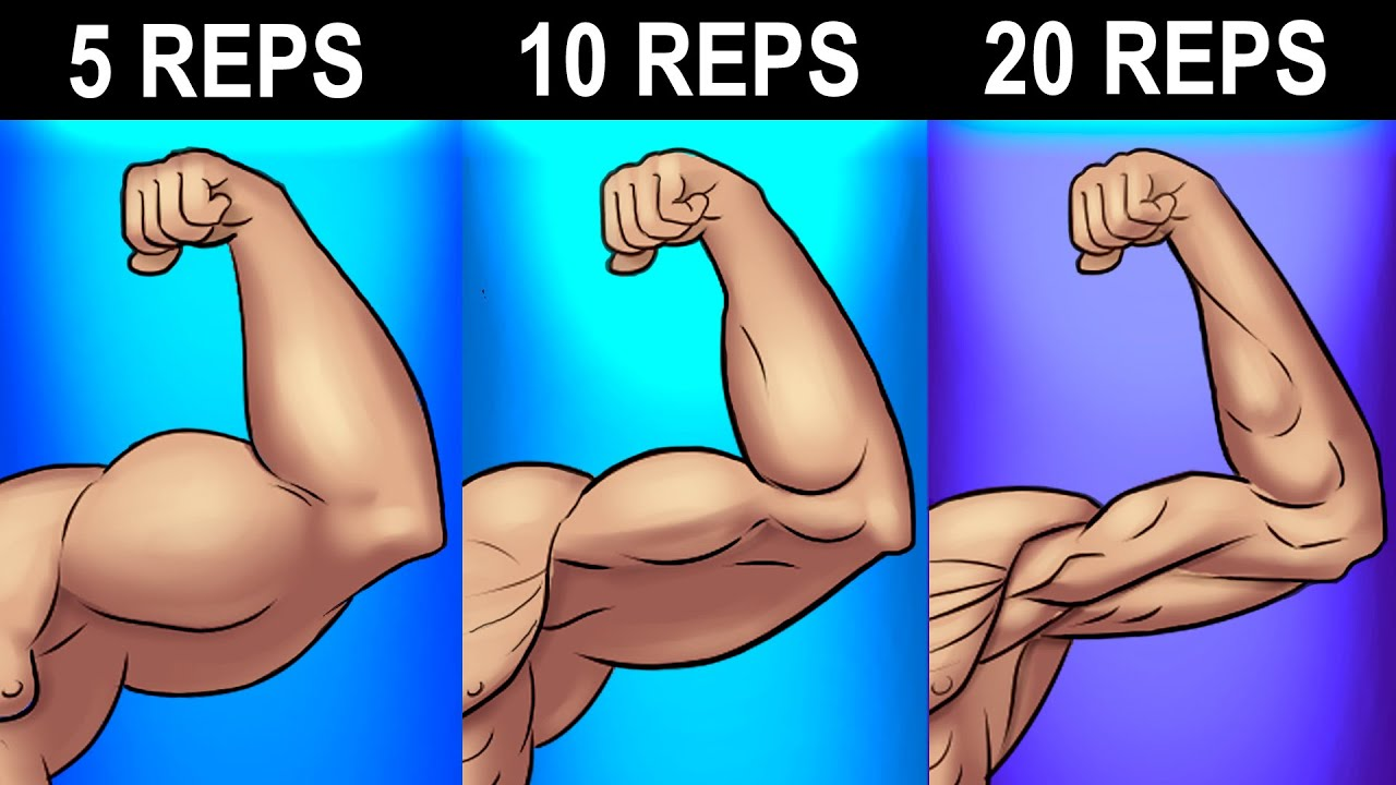 BEST Rep Range to Build Muscle Faster