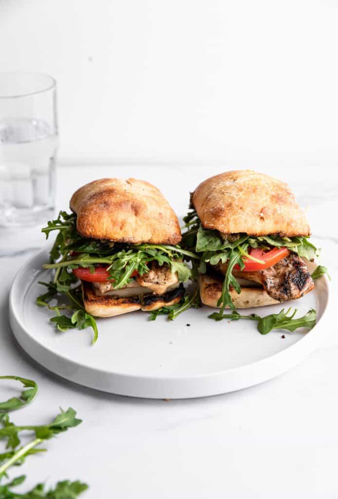 Chicken Pesto Sandwich picture 694x1024 1