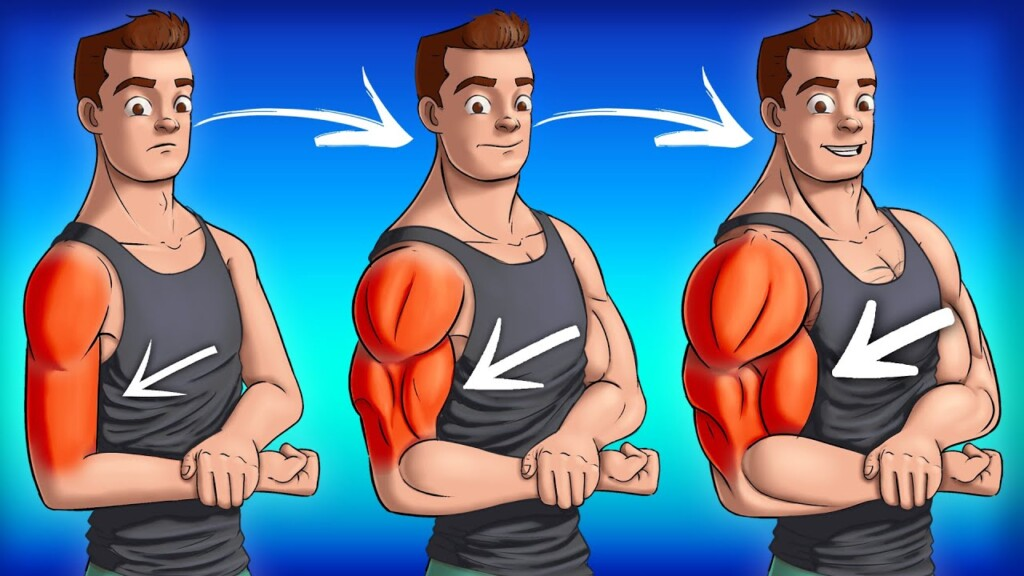 10 BEST Exercises for BIG ARMS (Dumbbells Only!)