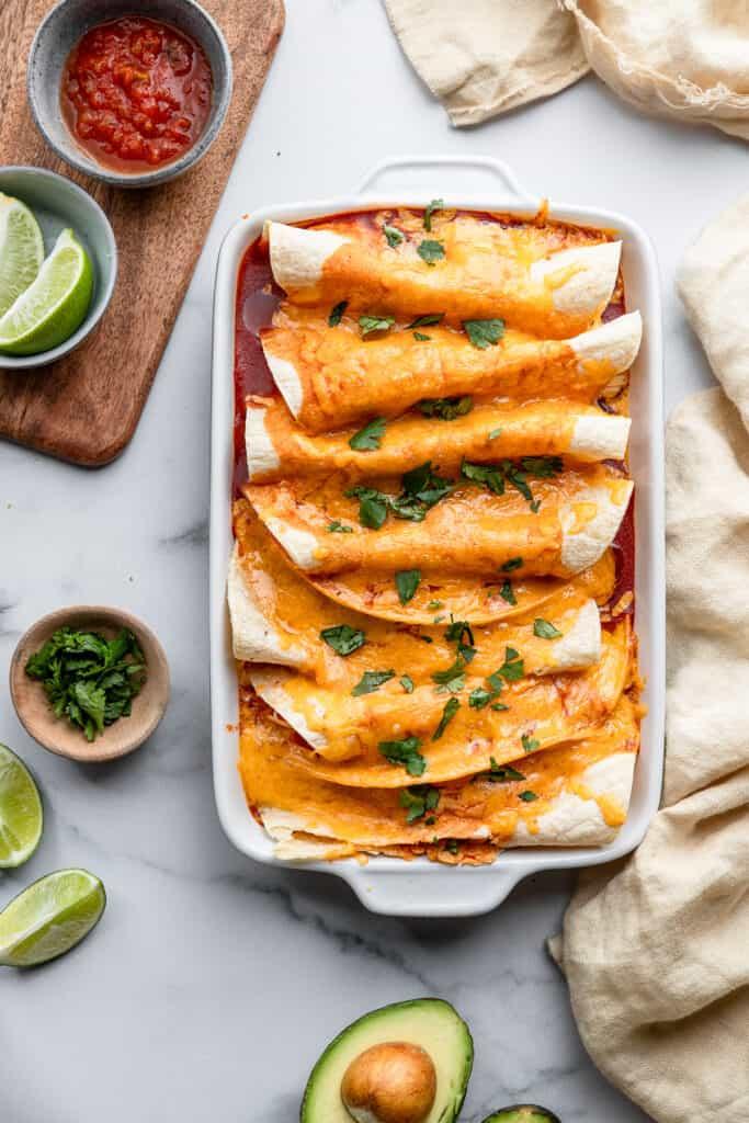 Instant Pot Chicken Enchiladas picture 683x1024 1