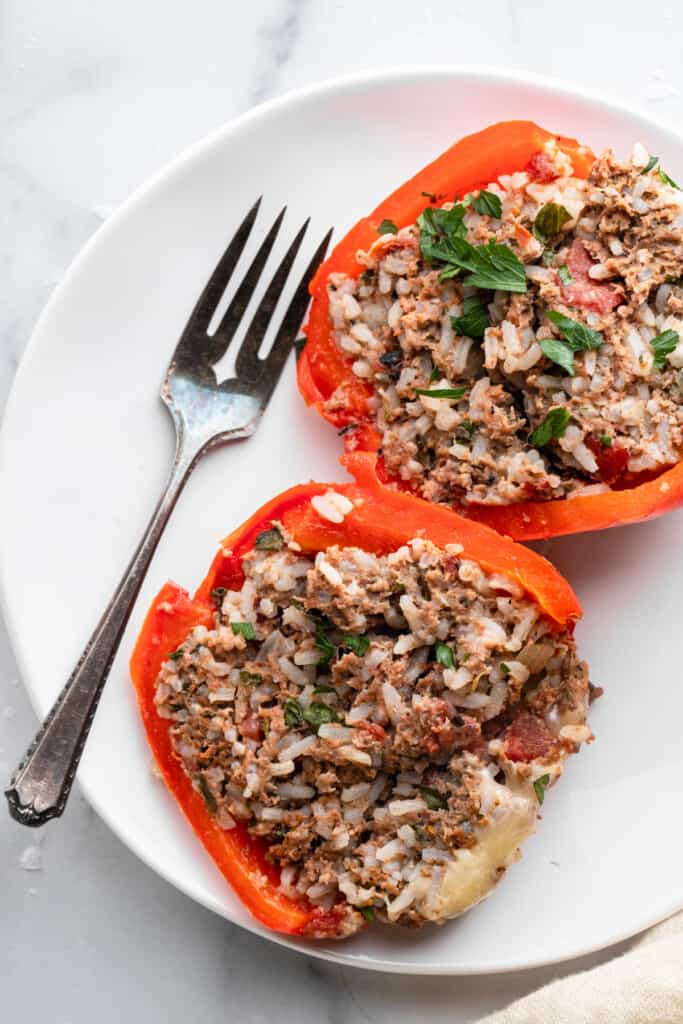 Instant Pot Stuffed Peppers image 683x1024 1