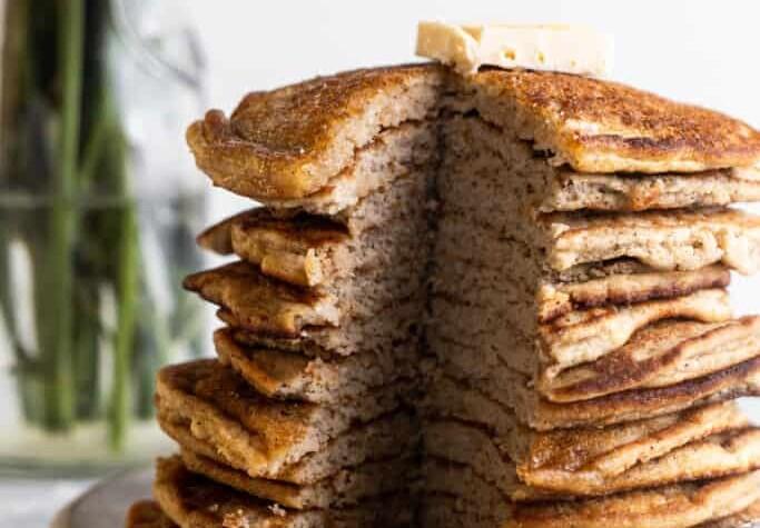 Keto Coconut Flour Pancakes photo 683x1024 1