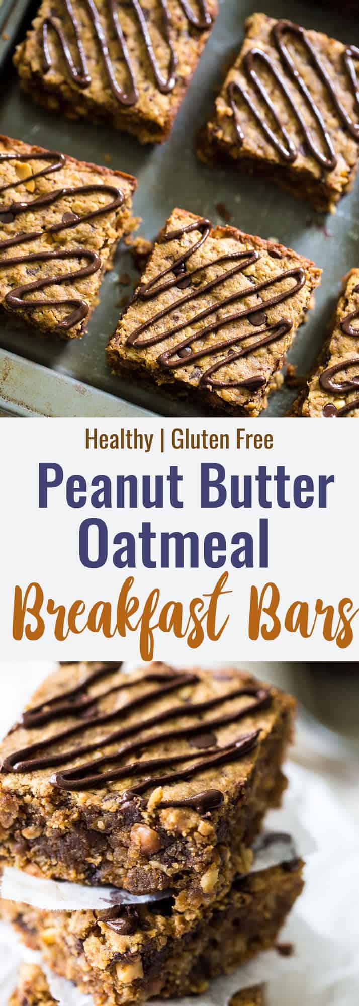 Healthy Breakfast Bars collage photo