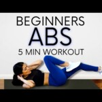 Beginner ABS Workout 🔥 At Home, No Equipment with Courtney 💕