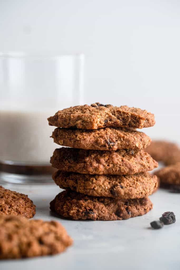 Almond Flour Oatmeal Cookies picture 683x1024 1