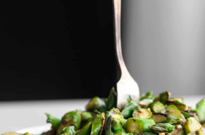 Asparagus Stir Fry image