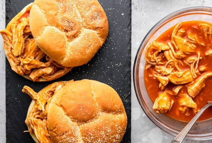 Instant Pot Buffalo Chicken picture 703x1024 1