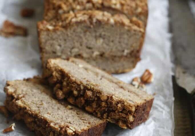 Paleo Coconut Flour Banana Bread image 683x1024 1