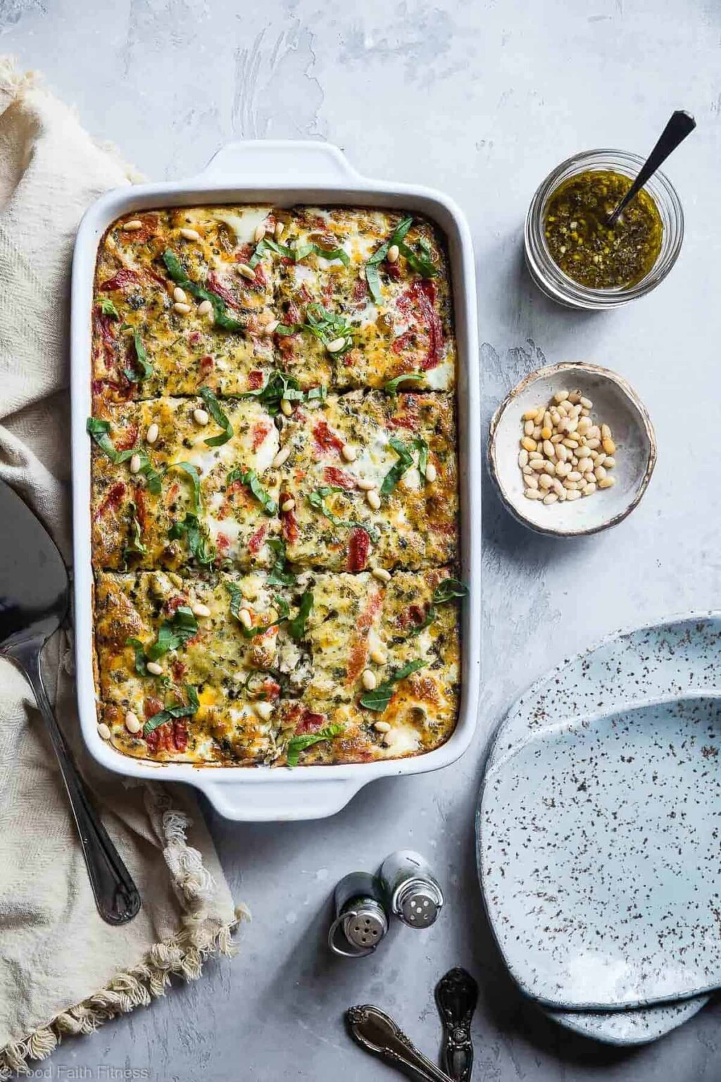 easy low carb breakfast casserole with sausage pic