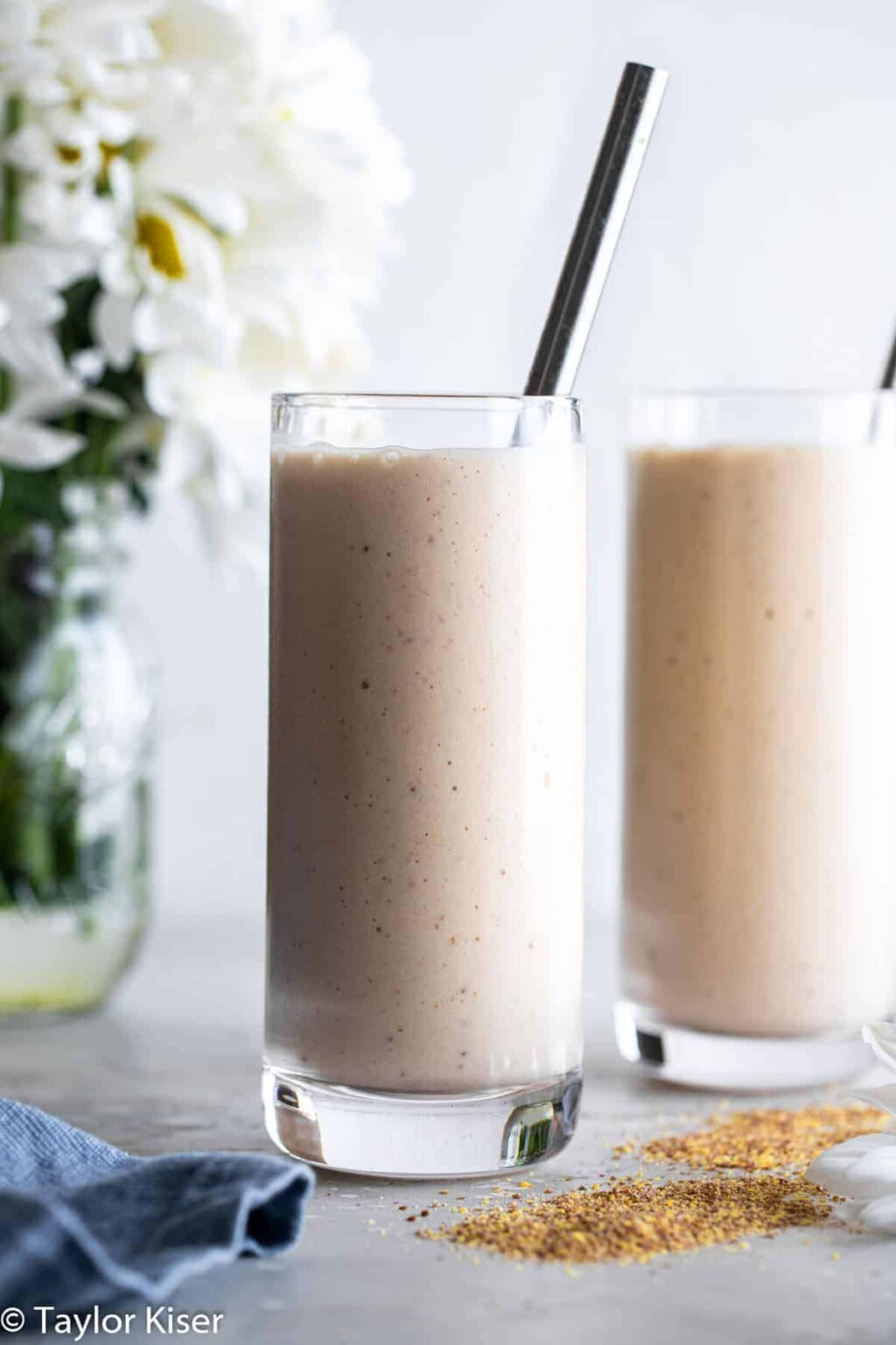 flax seed smoothie picture