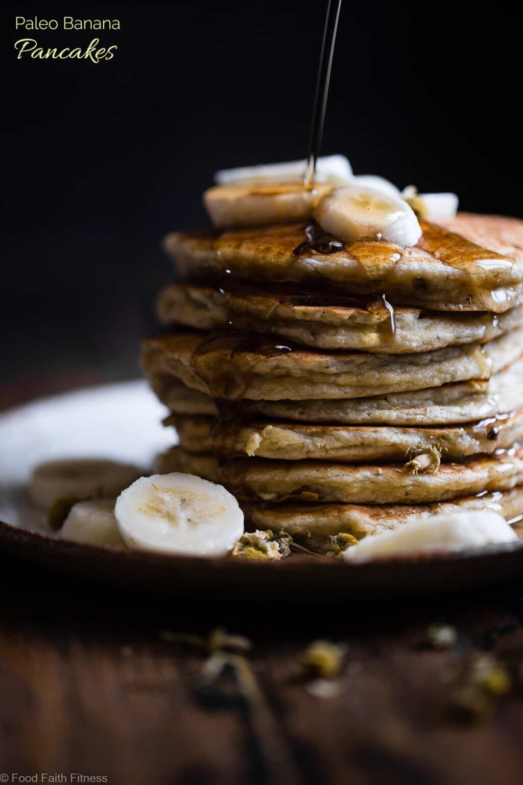 paleo banana pancakes with coconut flour picture