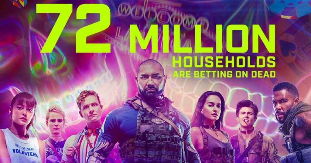Army Of The Dead Viewers 72 Million Netflix