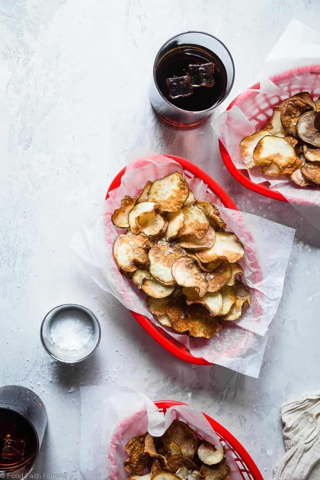 air fryer potato chips pic