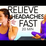 Pain Relief Stretches for Migraines & Tension Headaches | Chelsey Jones