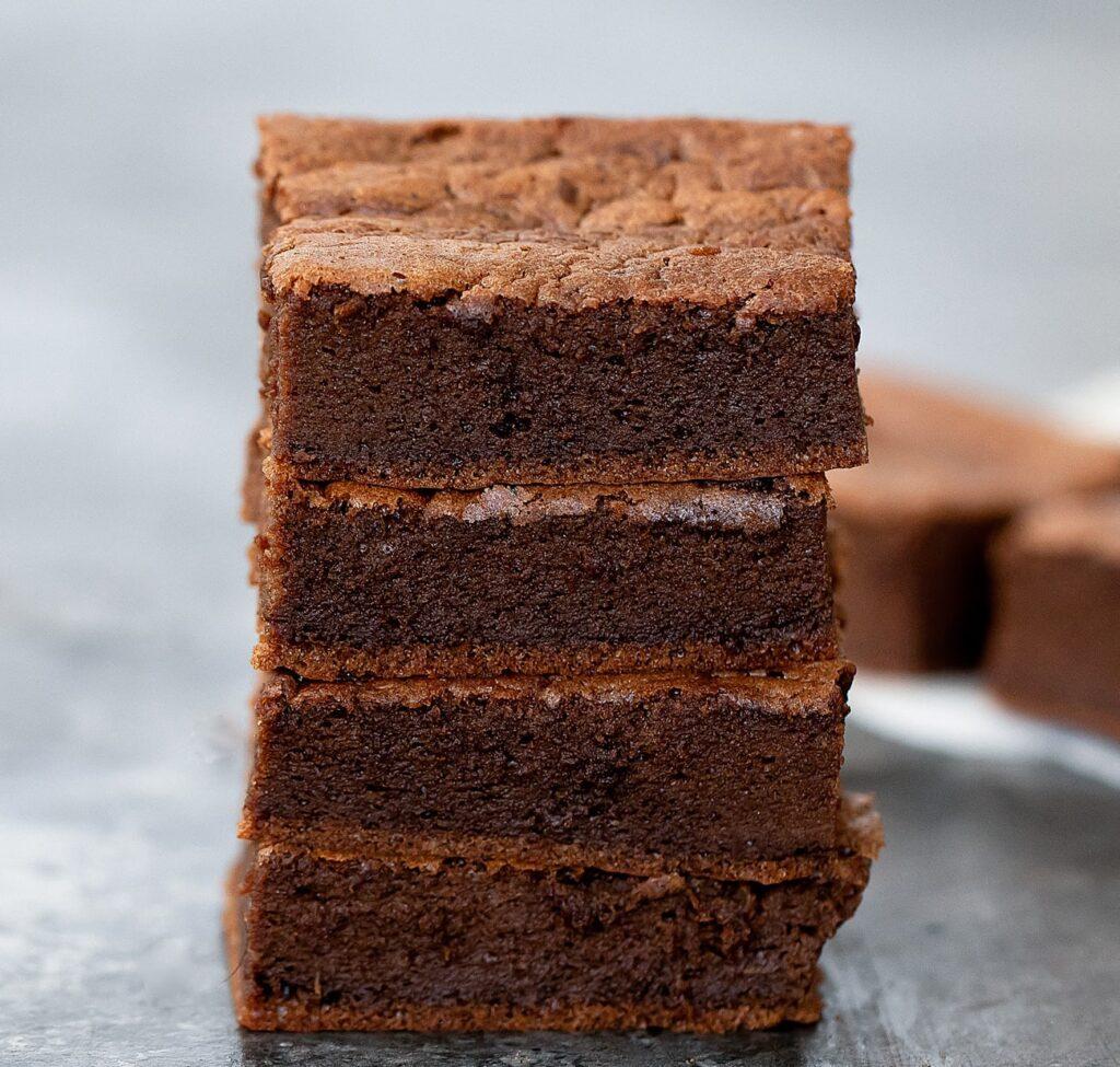 2 ingredient keto brownies 7