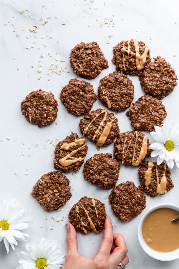 Vegan No Bake Cookies pic 683x1024 1