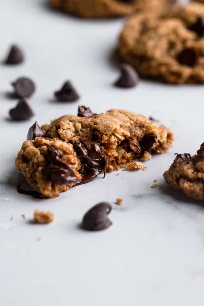 Vegan Oatmeal Chocolate Chip Cookies image 683x1024 1