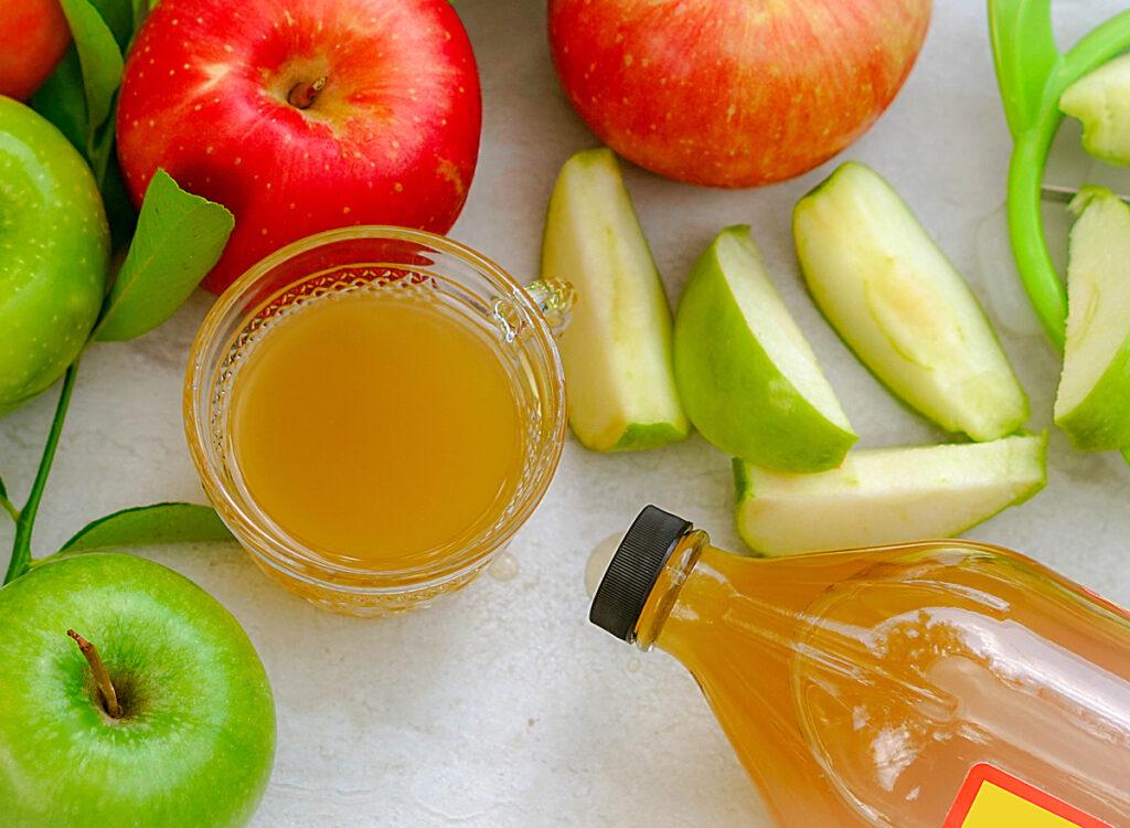 apple cider vinegar apples