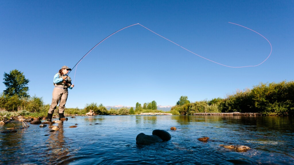 fly fishing getty images