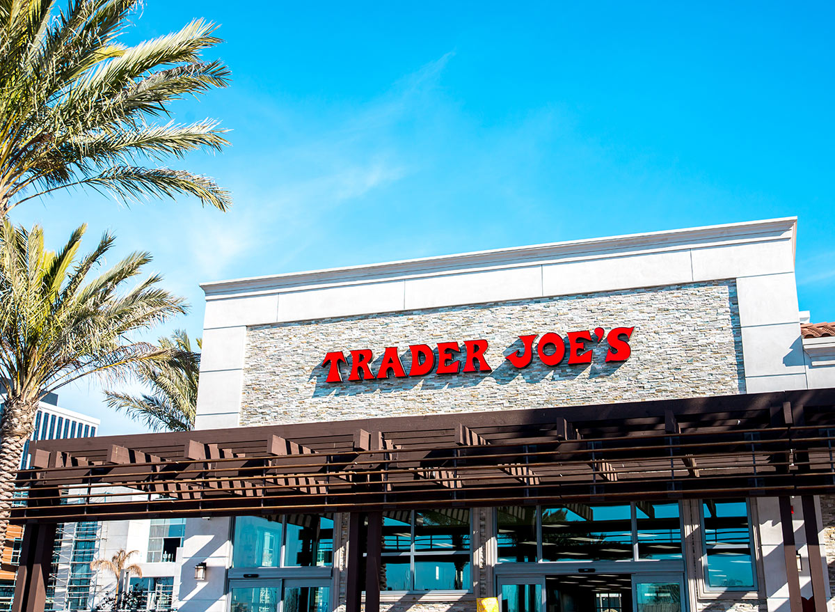 outside trader joes in the sun 1