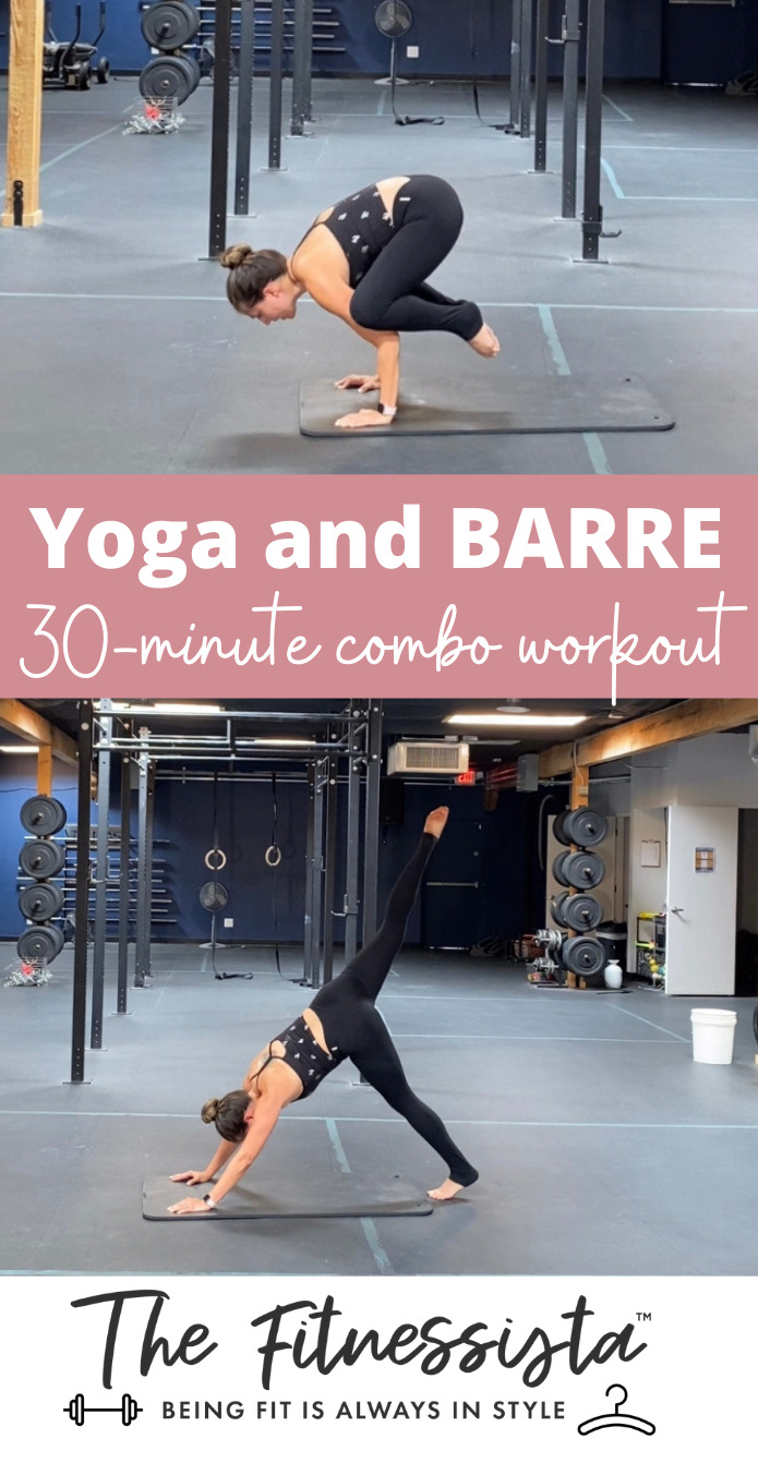 yoga and barre 30 minute workout 1