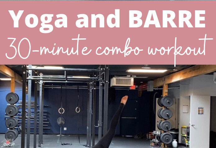yoga and barre 30 minute workout
