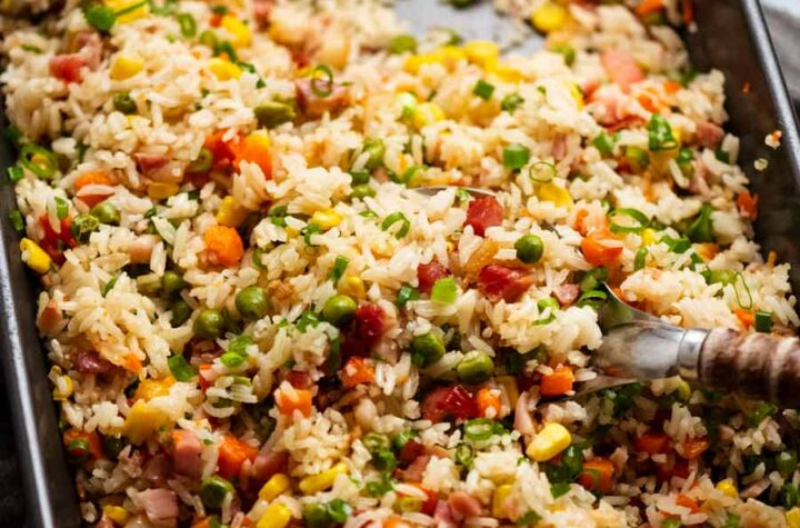 Baked Fried Rice 80
