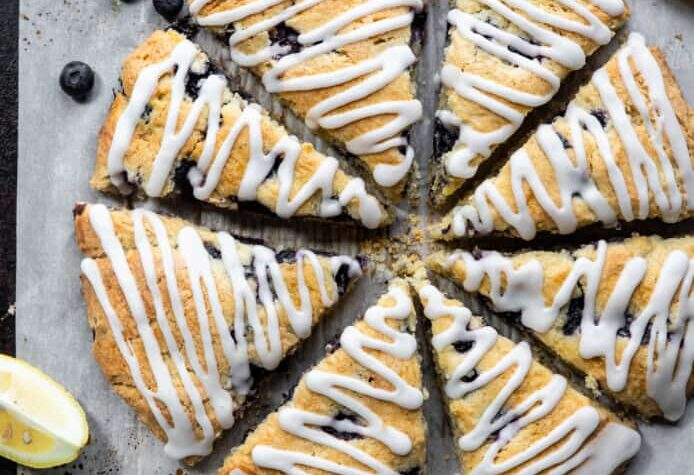 Gluten Free Scones with Blueberries picture 694x1024 1
