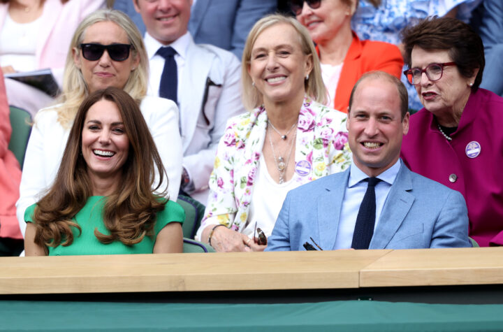 Prince William and Kate Middleton Attend Wimbledon Together After She Was Exposed to COVID 02