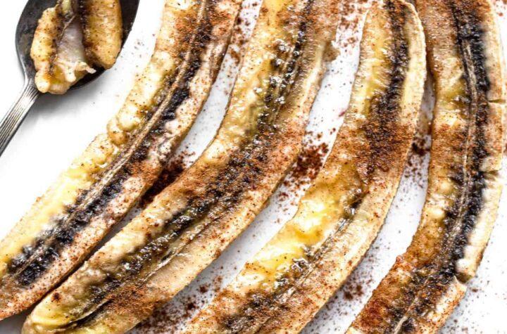 baked bananas pic photo