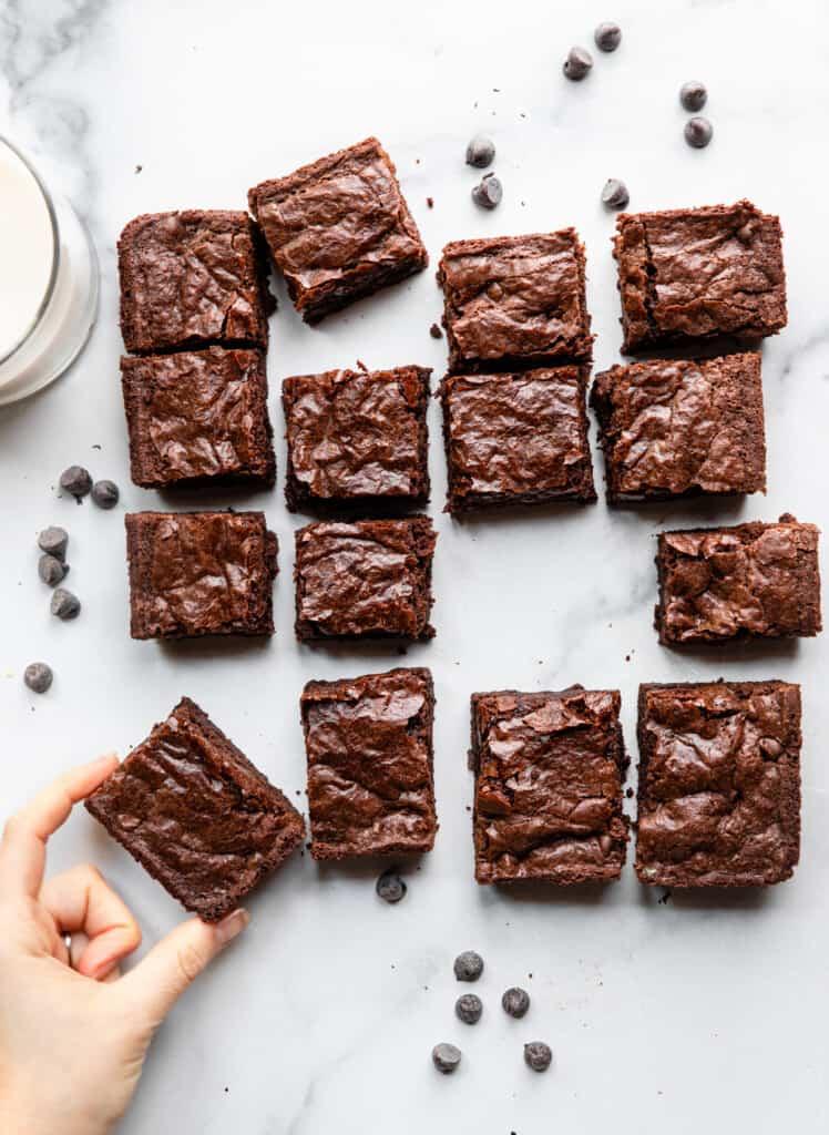 Vegan Gluten Free Brownies picture 748x1024 1